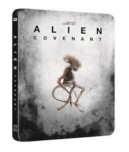 Alien-pacto-STEELBOOK-4K-Ultra-Hd-Blu-ray-DIGITAL-HD-vendido-fuera-de-imprenta