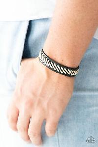 Men-039-s-Urban-Bracelet-Watch-Your-BACKPACKER-Black