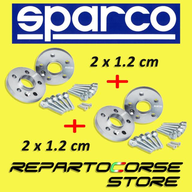 KIT DE 4 ESPACIADORES SPARCO 12 mm CON TORNILLOS - ALFA ROMEO MITO