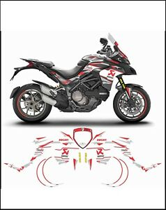 Details About Kit Stickers Stickers Compatible Multistrada 1260 Team Falkner Racing Pikes P Show Original Title
