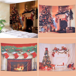 Tapisserie-Weihnachten-Serie-Wandbehang-Wandteppich-Kawaii-S-L-Wand-Zimmer-Deko