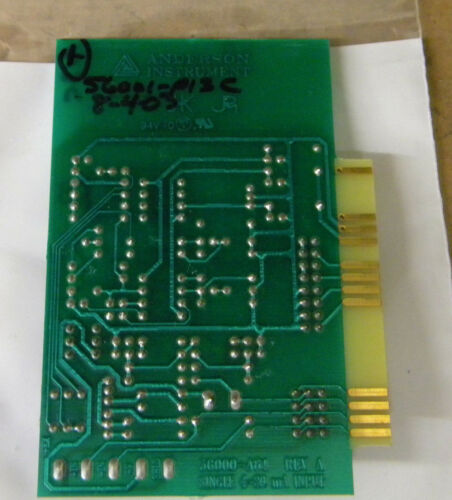 ANDERSON INSTRUMENTS 56000-A81 INPUT BOARD 56000A81