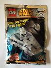 LEGO STAR WARS POLYBAG 911510 TIE FIGHTER STAR DESTROYER NEUF SCELLE