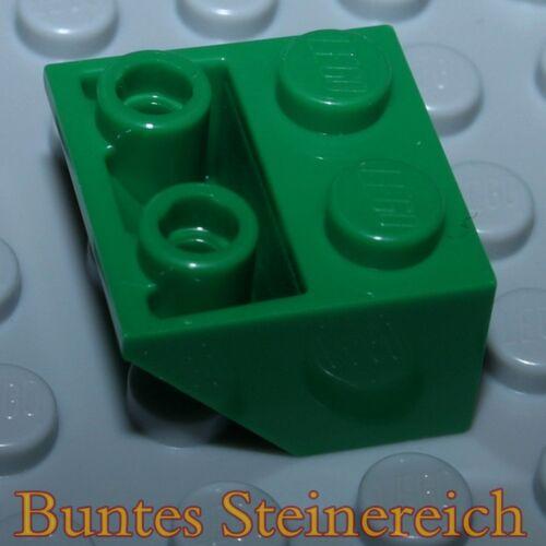 20 pièce verte toit négatif Pierres 2x2//Dachstein 3660 vert Tt09 NEUFS