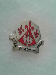 Authentic-US-Army-138th-Engineer-Group-Unit-DUI-Crest-Insignia-22M
