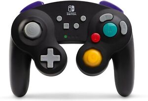 PowerA-GameCube-Wireless-Controller-for-Nintendo-Switch-Black-New