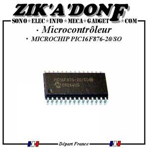 MICROCHIP-PIC16F876-20-SO-Microcontroleur-8-bits-Flash-20-MHz