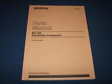 CAT CATERPILLAR PS-180 PNEUMATIC COMPACTOR PARTS MANUAL BOOK S/N 7ND45-UP