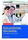 Recht und Verträge beim Hausbau von Falk Ostmann (2013, Taschenbuch)