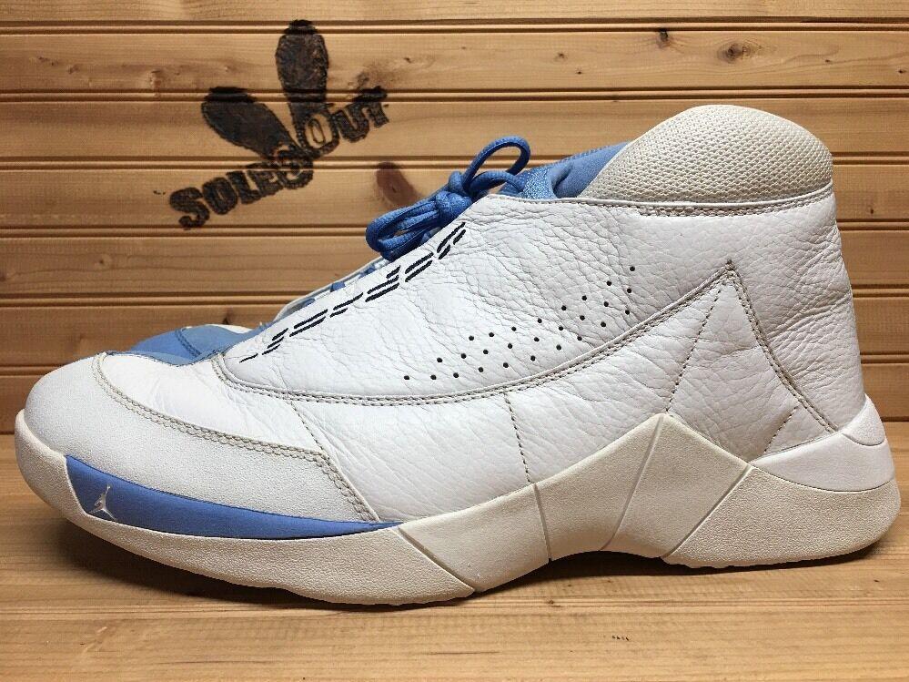 2001 nike air jordan camp 23 sz 13 weißen weißen weißen columbia blau 136068-141 69160f