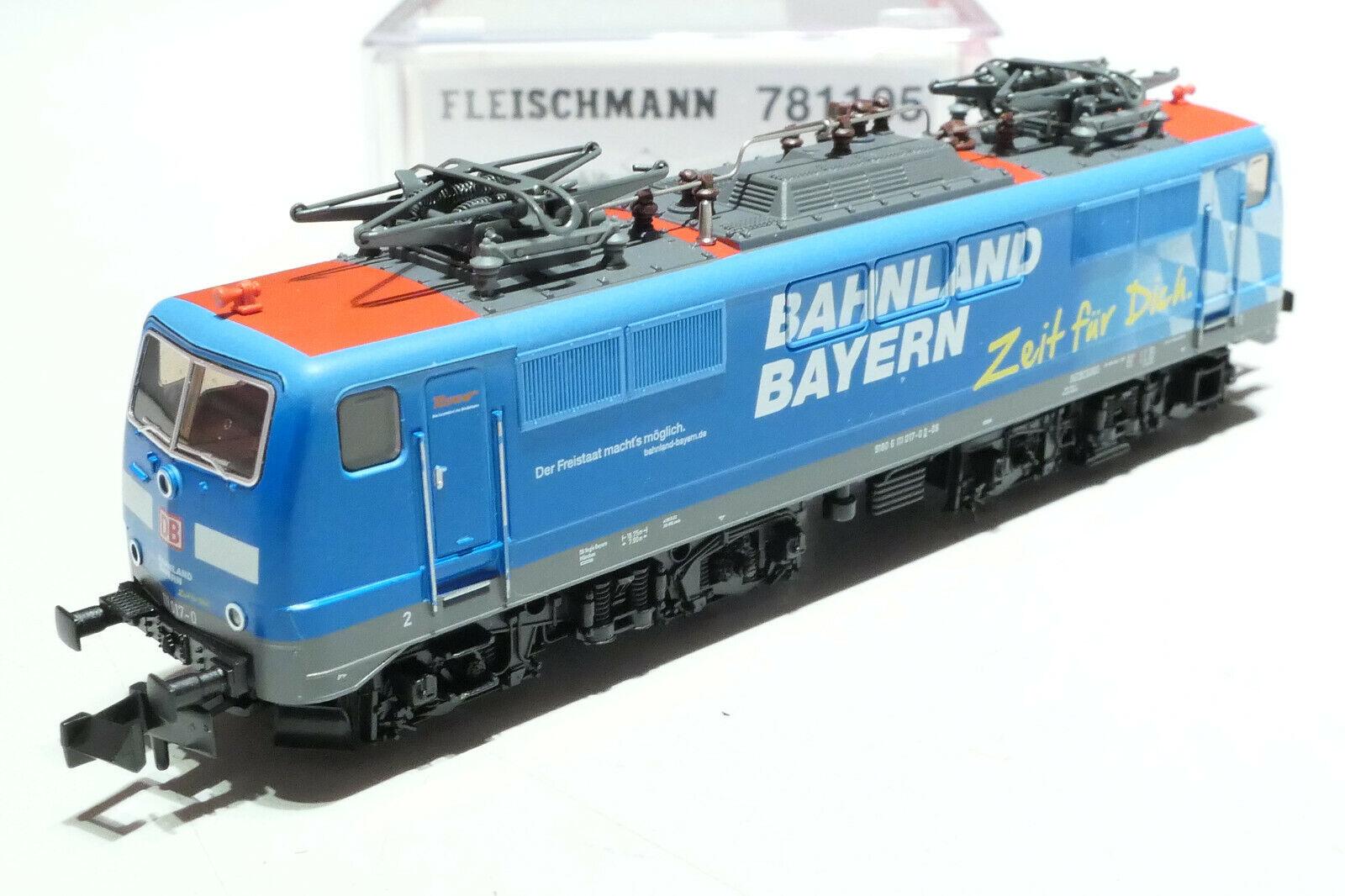 Fleischuomon N DB AG 111 1170 ferrovia paese Baviera ColoreeeATO 781105 NUOVO OVP