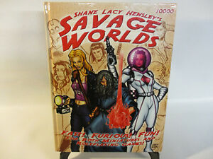 SAVAGE-WORLDS-1st-Edition-RPG-Roleplaying-Game-Book-10000-Great-White-Games-EX