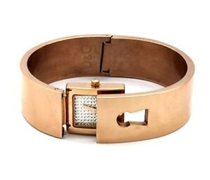 D-amp-G-Damen-Armbanduhr-DW0253-Spy-me-Dolce-amp-Gabbana-Uhr-Rosa-Gold-Geschenkbox