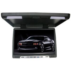 48-26cm-19-Zoll-Deckenmonitor-LCD-Monitor-Flipdown-mit-IR