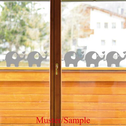 Elefant 20cm Aufkleber Tattoo Dumbo Auto Fenster Deko Folie Wandtattoo Bordüre
