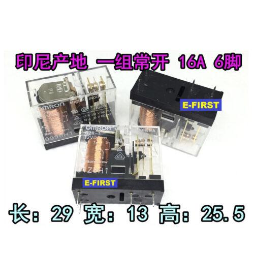 2//5//10pcs OMRON Relay G2R-1A-E-24VDC G2R-1A-E-12VDC 16A 6FEET 6PIN