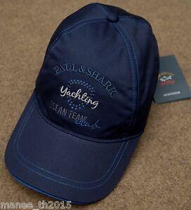 Image is loading Paul-amp-Shark-YACHTING-Baseball-Cap-Hat-E16P0714 e1ab22373ae