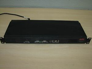 Confident Apc Infrastruxure Manager Appliance Ap9420 885-7792 Rev-1 With Power Cord Vcci-a Lustrous Computers/tablets & Networking Power Protection, Distribution