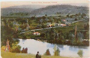 1908-GOULBURN-RIVER-ALEXANDRA-VICTORIA-POSTCARD