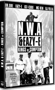 N.W.A & Eazy-E-Kings of Compton [DVD/Nuovo/Scatola Originale] docu del hip hop e inventa la