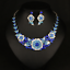Fashion-Boho-Crystal-Pendant-Choker-Chain-Statement-Necklace-Earrings-Jewelry thumbnail 133