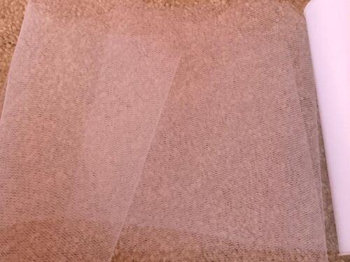 15m de 150mm de ancho de tela de malla de nylon suave Tul Blanco Boda//Tutú//Crafts