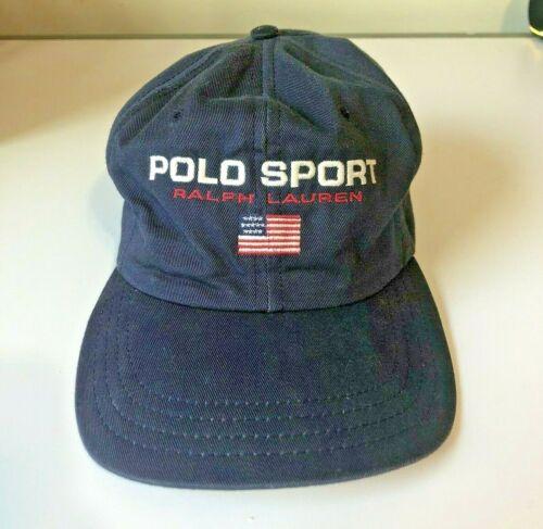 Vintage 90s Polo Sport hat adjustable strap back R