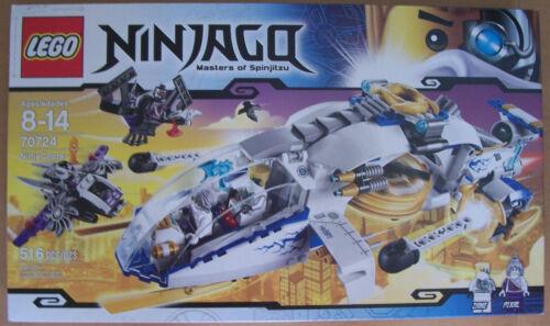LEGO 70724 Ninjago Ninja Copter 516 Pcs Ages 8-14 New Sealed Box