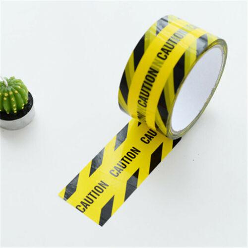 Warnung Tape Achtung Caution Fragile Barrier Erinnern DIY Sicherheit Klebstoff