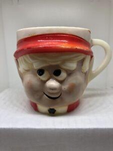 Vintage Keebler Elf Mug, Ernie the Elf Child's Mug 1972