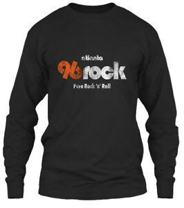 10cdeaf061a3 Details about 96 Rock Atlantas Station - Atlanta Pure  n   Roll Gildan Long  Sleeve Tee T-Shirt