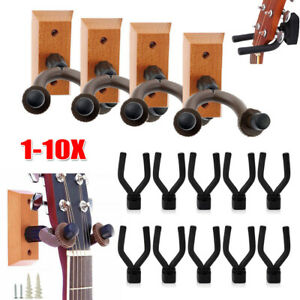 1-10Pack-Guitar-Bass-Banjo-Violin-Mandolin-Hanger-Hook-Holder-Display-Wall-Mount