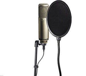 Studio-Mic-Wind-Screen-Guard-Pop-Filter-for-Vocal-Condenser-Cardioid-Microphones