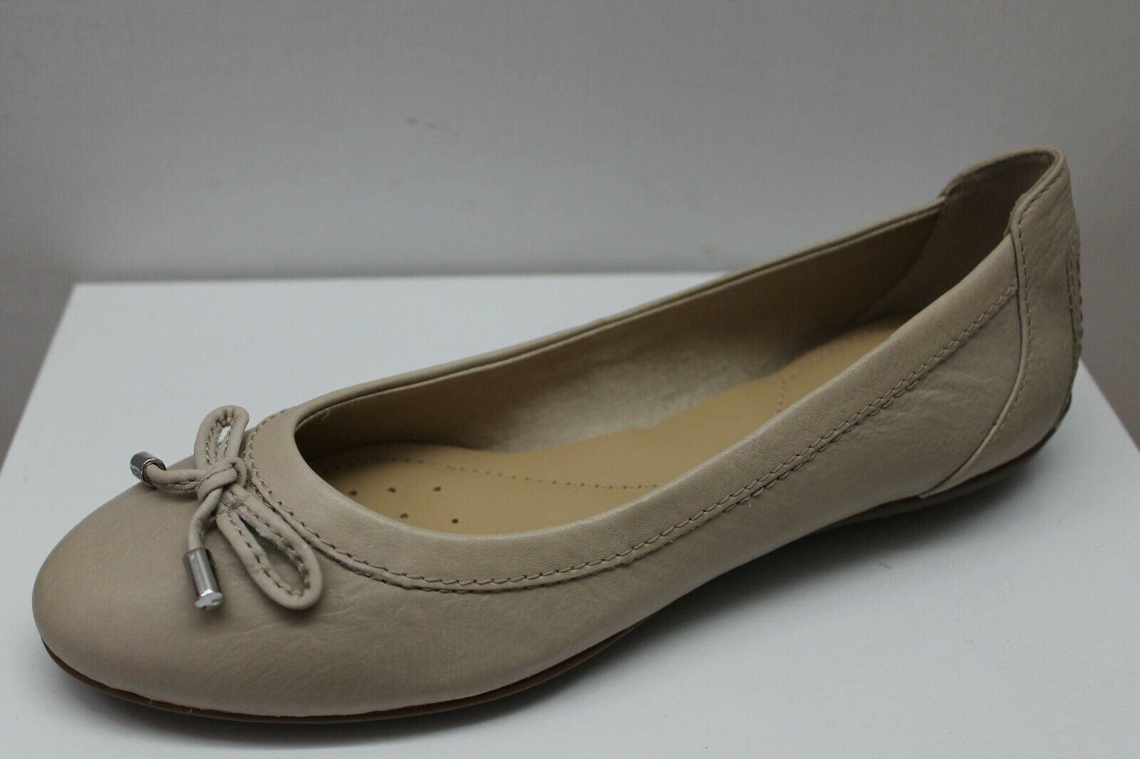 Ballerinas geox D Charlene to Beige Leather List  79,90 - 20%