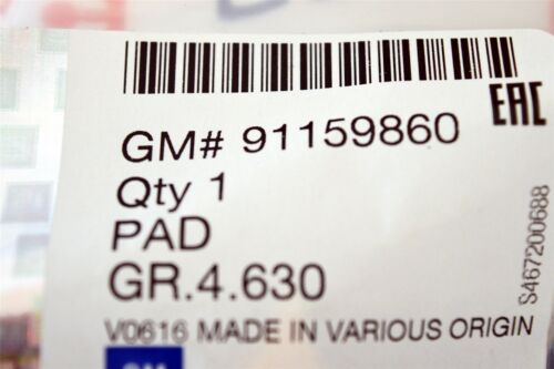 Genuine RENAULT MASTER III-Pédale d/'embrayage couvercle en caoutchouc//Pad-NOUVEAU 91159860