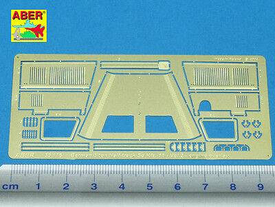 Ingegnoso Aber 35116 - 1/35 Photoetched Fotoincisioni German 3 Ton Half-track Sd.kfz.11