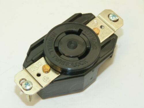 Hubbell HBLL720R Twist Lock Receptacle 20a 277v 2p 3 Wire Grounding NEW