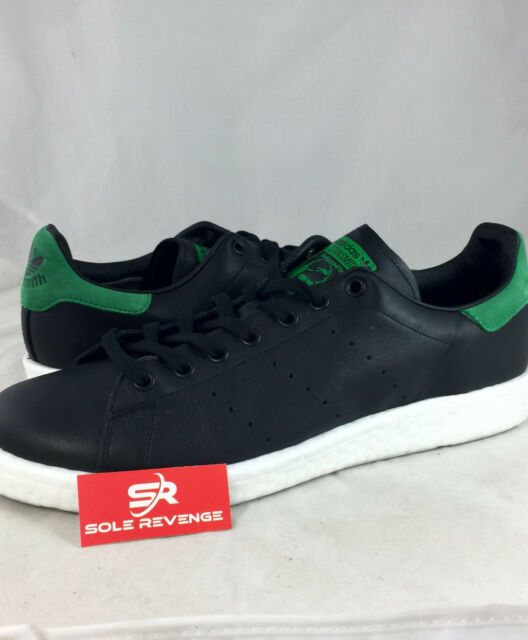 Mens adidas Stan Smith Boost Core Noir Vert Blanc Bb0009 US 10 eBay