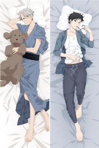 Yuri on Ice Victor Nikiforov Anime Male Dakimakura Hug Body Pillow Case Cover