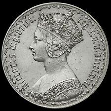 1881 Queen Victoria Gothic Florin, XXRI Error, Scarce