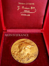 MED3700 - MEDAILLE HORTICULTURE & ACCLIMATATION TOULON - ARGENT - FRENCH MEDAL