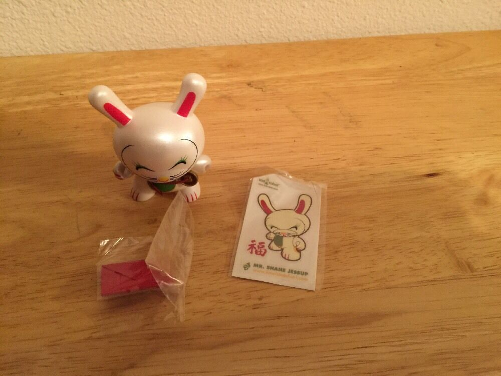 SIGNED 3  Kidrobot Dunny Mr. Shane  Jessup completare + PcalienteO