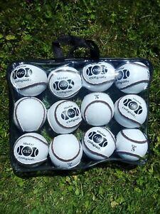 Footballs-sold-single-Sliotars-packs-of-12-size-4-amp-5-Gaa-hurling-soccer