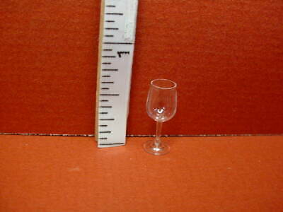 Miniature Champagne Glass #13 Clear Little Dollhouse Co.