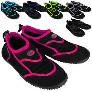 Wasserschuhe-Badeschuhe-Damen-Herren-Kinder-Strandschuhe-Surf-Aqua-Schuhe-24-46
