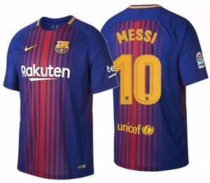 26376e75c Image is loading NIKE-LIONEL-MESSI-FC-BARCELONA-HOME-JERSEY-2017-