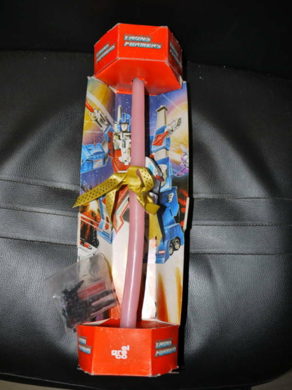 VINTAGE TRANSFORMERS G1 FIRST AID EASTER CANDLE RARE NOVELTY EL GRECO HASBRO