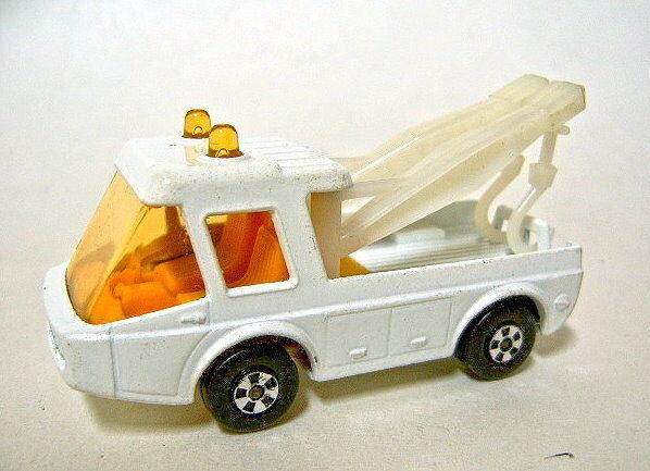 Matchbox Nº 74b Toe Joe modelo de pre-producción En biancao Con biancao grúas jirafa
