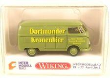 Wiking 0788 54 Intermodellbau 2018 VW T1 Kasten Dortmunder Kronenbier H0 1:87