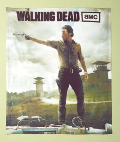 Copripiumino The Walking Dead.Team Promotions Walking Dead Tv Show Fleece Throw Throw Throw